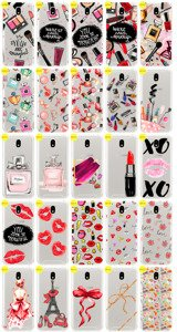 Pokrowiec na tył Kreatui Stickers Fashion etui z nadrukiem do SAMSUNG GALAXY J3 2018 SM-J377